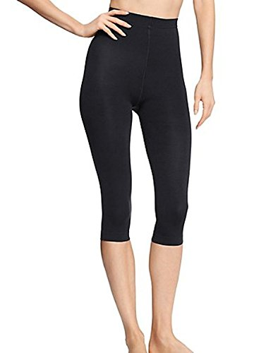 Hanes Shaping Women's Capris Style # B479 or Hb479 (Large) (Black Capris Hanes)