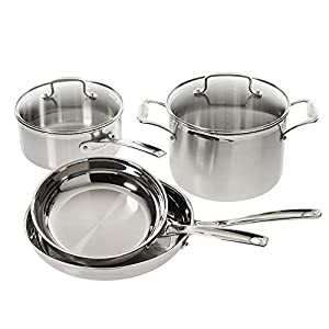 Cuisinart Multiclad Pro Stainless Steel 6-Piece Cookware Set 3