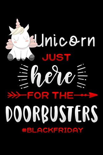 just here for the doorbusters: Unicorn gift Lined Notebook / Diary / Journal To Write In 6