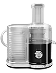 KitchenAid KVJ0333OB Easy Clean Juicer, Onyx Black