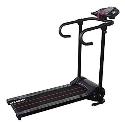 Idealchoiceproduct Electric Motorized Portable Folding Treadmill Running Cardio Fitness
