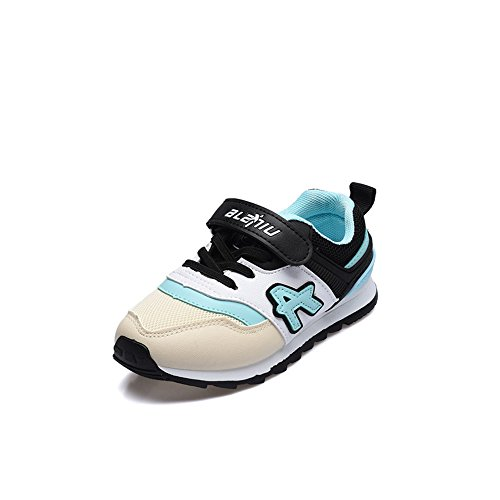 cici shoes Kids Tennis Shoes Breathable Lightweight Athletic Sports Running Sneakers for Boys & Girls (Blue / 27/10 M US Little Kid) ()
