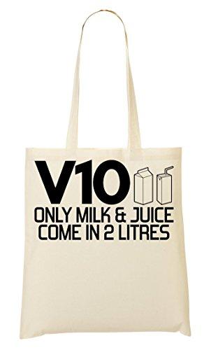 V10 Only Milk Juice Bolso De Mano Bolsa De La Compra