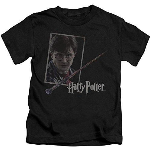 Juvenile: Harry Potter- Wand And Portrait Kids T-Shirt Size 5/6 - Portrait Potter