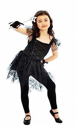 FANCY DRESS GIRLS HALLOWEEN DARK BALLERINA SPIDER COSTUME SIZE MEDIUM 7 - 9 by (Dark Ballerina Halloween Costumes)