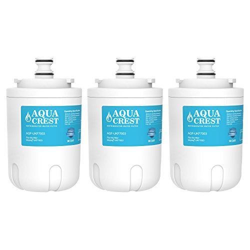 3 Pack Aquacrest Ukf7003 Replacement For Whirlpool Edr7d1