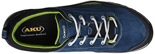 AKU Nef Gtx - Zapatos de Low Rise Senderismo Hombre Grün (Green/Blue)