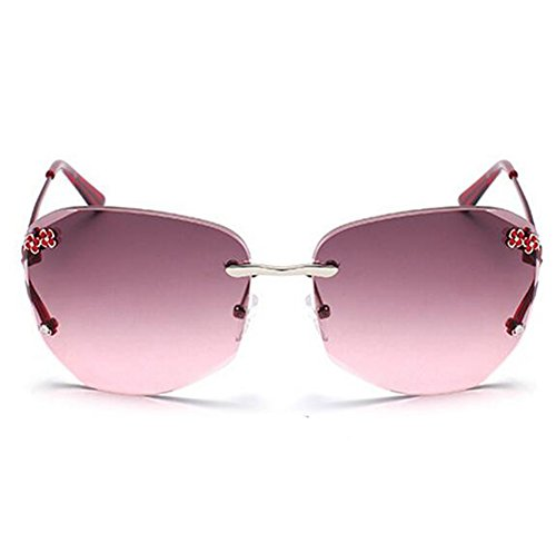 My.Monkey Womens Fashion Polarized Gradient Lens Small Frame Warfarer - Sunglasses Shape Your For Face Buying