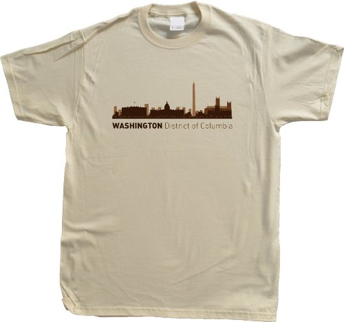 Washington, DC City Skyline Unisex T-shirt District of Columbia Hometown Pride Tee