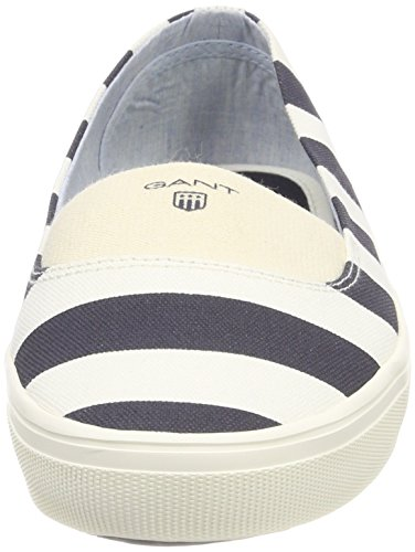 Gant Dame New Haven Lukket Ballerinaer Flerfarvede (creme / Marine) GLLKS