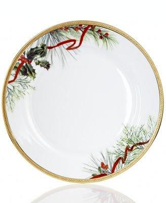 Charter Club Dinnerware, Holly Berry Round Dinner Plate