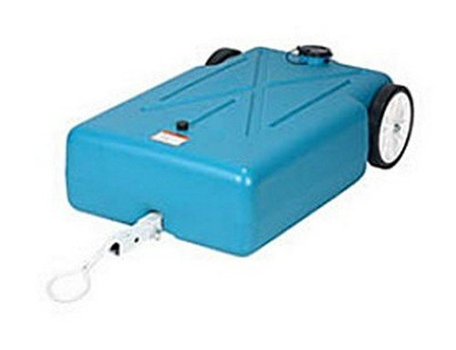 Barker Mfg. 31342 RV Trailer Tote-Along Portable Holding Tank 30 Gallon (Tote Tank Along)