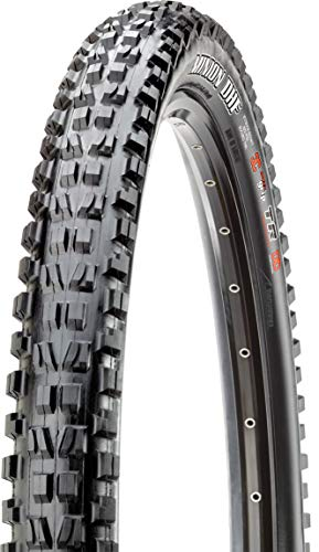 Maxxis Minion DHF DC Exo Tubeless Ready Folding Tire, 29-Inch (Best Mtb Tires For Rocky Terrain)