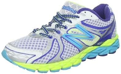 New Balance Women's W870v3 Running Shoe,White/Blue/Yellow,6.5 B US