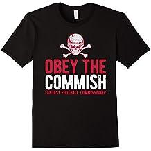 Obey Commish Funny Fantasy Football Champion Draft T Shirt