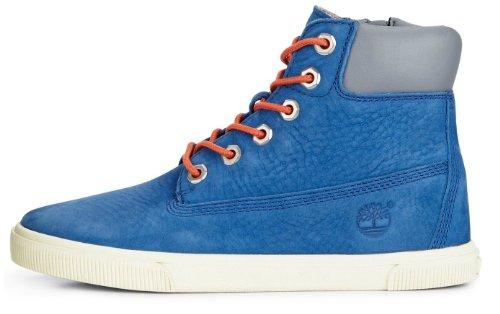 Garçons Timberland Earthkeepers 6po Botte Haut Sommet / Chaussures Royales / Bleu