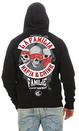 Mafia & Crime Herren Kapuzensweater LA FAMILIA 459