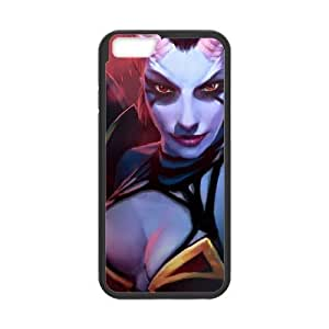 iphone6 4.7 inch Black phone case Queen of Pain Dota 2 DOT9945945