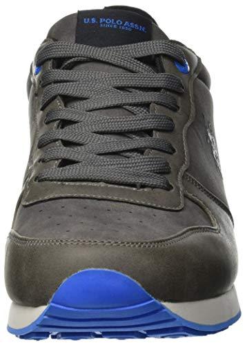 Grey U ASSN POLO Grey Uomo Sneaker Club S Sheridan2 Grigio zqZTSwpz