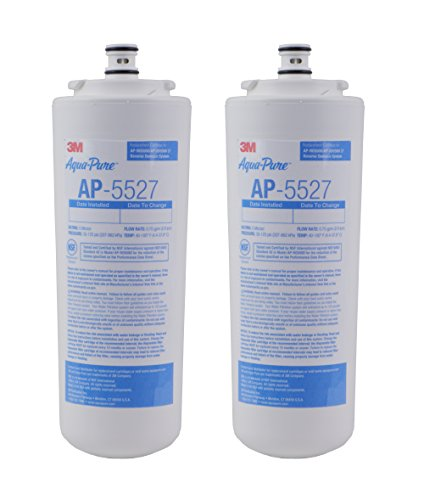 3M Aqua-Pure Under Sink Reverse Osmosis Replacement Water Filter Cartridge for AP5527, AP-RO5500, 5631201 from 3M Aqua-Pure