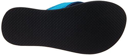adidas Beach Thong K, Chanclas Unisex Bebé Azul / Amarillo (Maruni / Azusol / Amabri)
