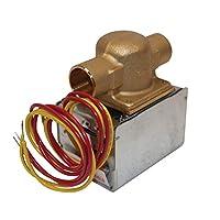 """Honeywell V8043E1012 Válvula de zona de sudor de 3/4 """"(conexión = 18"""" conductores)"""