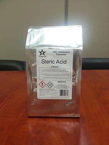Stearic Acid 10 Lb Pack- Consists of 2- 5 lb Packs (9893)