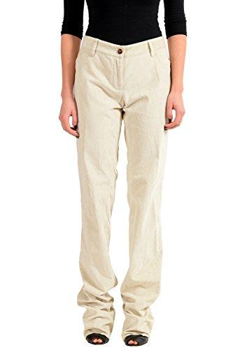- Dolce & Gabbana Gray Velour Women's Casual Pants US L IT 44