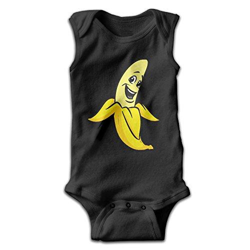 Toddler Banana Peeled Costumes (Funny Cartoon Banana Fashion Baby Boys & Girls Sleeveless)