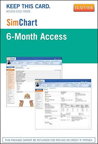 Download Sim Chart 6-month Acess By Elsevier for Nursing (SimChart 6-month access for nursing) ebook