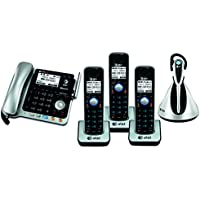 AT&T TL86109 2-line corded/cordless phone system with cordless headset (3 Handsets)