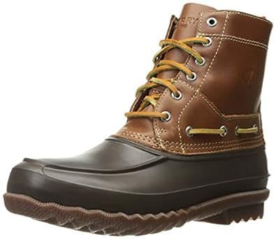 Sperry Top-Sider Men's Decoy Rain Boot, Brown, 7 M US