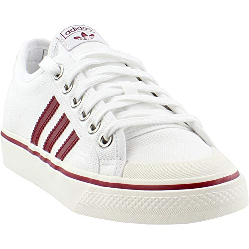 (adidas Mens Nizza Casual Shoes White 6 )