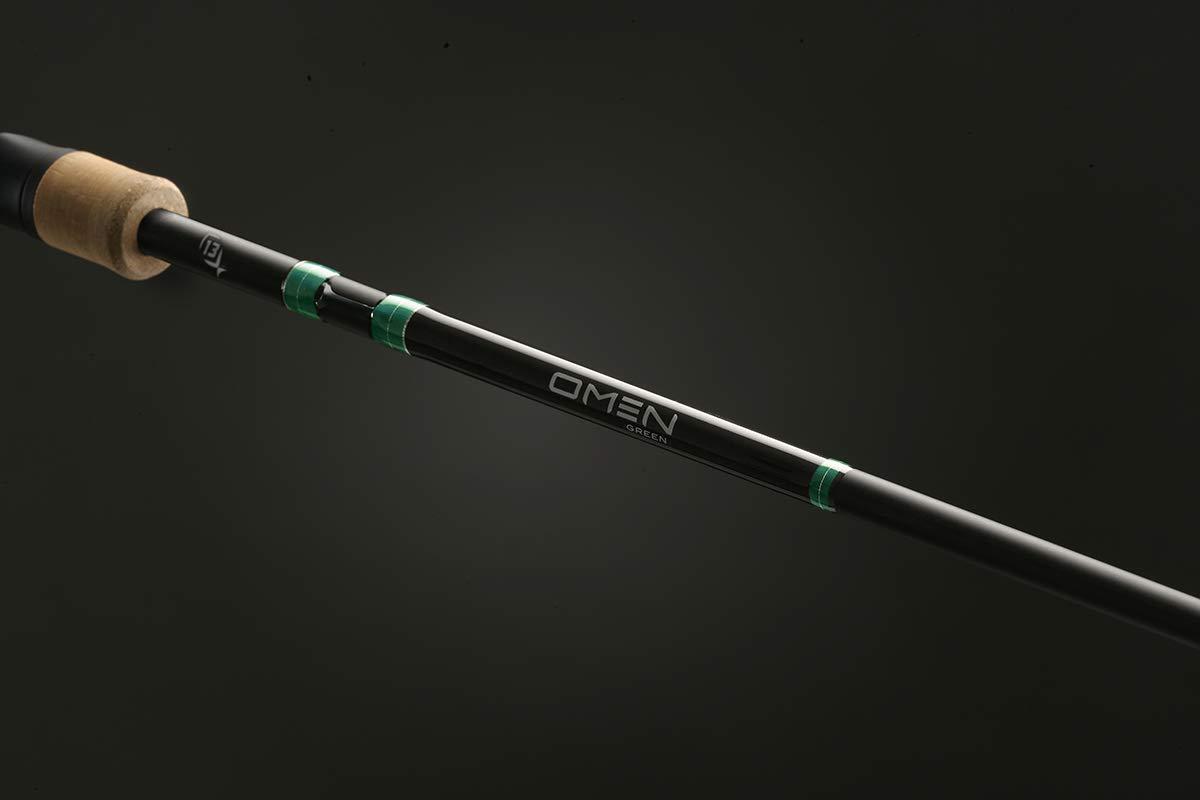 人気ブランドの 13釣りOmenグリーン2 Mキャスティングロッド B01L1YRSM6 B01L1YRSM6 7.2', イケダスポーツ:8e78ad25 --- arianechie.dominiotemporario.com