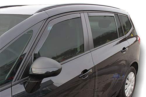 Winddeflectoren voor Opel Zafira C Tourer 5 deuren 2012-20204 stukken