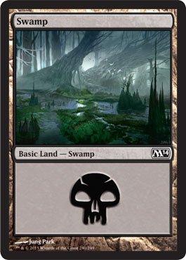Magic: the Gathering - Swamp - Magic 2014 - Foil ()