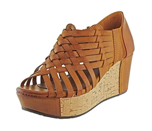 Pierre Dumas Women's Natural-1 Vegan Lea - New Platform Wedge Shopping Results