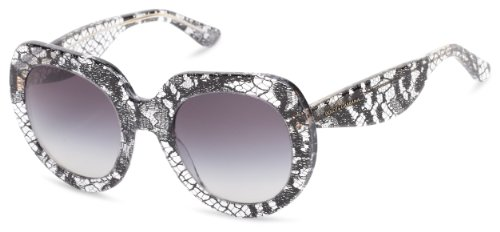 D&G Dolce & Gabbana 0DG4191P 19018G50 Oversized Sunglasses,Black Lace,50 - D&g Sunglasses Black