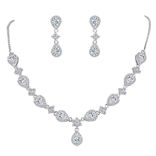 Cubic Zirconia Necklace : Accessories Jewelry - 8