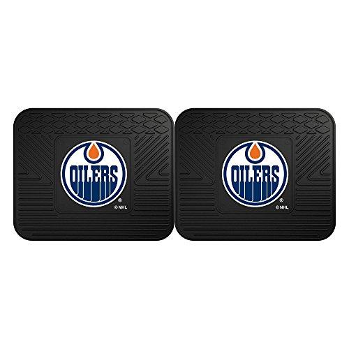 FANMATS NHL Edmonton Oilers Vinyl 2-Pack Utility Mats ()