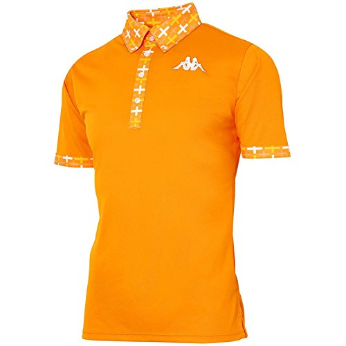 カッパ メンズウェア 半袖ポロシャツ KG712SS54 オレンジ
