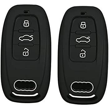 Amazon Com Audi Key Fob Case Cover Shell Replacement Smart Remote
