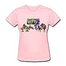 Kazzar Women's Plants Vs Zombies Garden Warfare 2 T Shirt L
