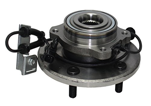Detroit Axle Front Driver or Passenger Side Complete Wheel Hub & Bearing Assembly 2007-2008 Chrysler Pacifica With-ABS