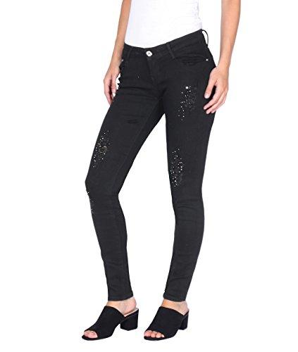 KRISP Jeans Femme Slim Chic Noir (2720)
