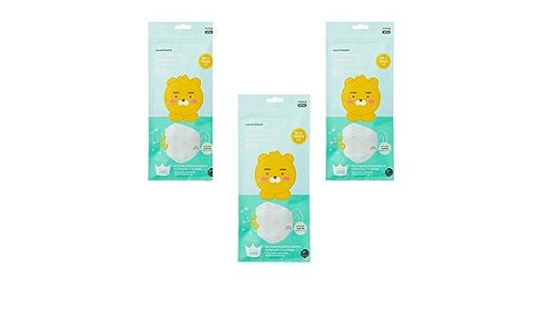 Kakao Friends Tienda Oficial Productos, Polvo Amarillo Fino Polvo mascarilla desechable Máscara: Amazon.es: Juguetes y juegos