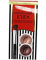 bareMinerals unbelievable Eyes Dazzling 3-piece Eyecolor & Brush Collection-XH235D