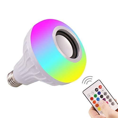 YIT Smart Home LED Light Bulb Bluetooth Speaker Smart Bulb Speakers 4.0 (Home Decorating Bulb)