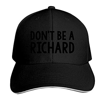 Don't BE A Richard - Funny Gag Joke Party Mesh Trucker Cap Hat Cap