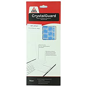 Aone Crystal Guard For Apple Keyboard And Macbook 13/15 Arabic And English - Sky Blue